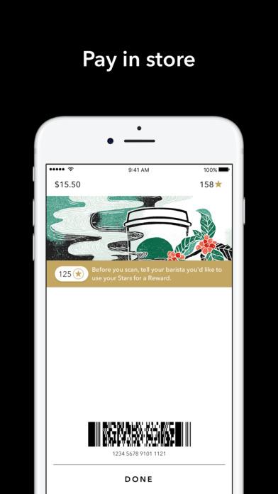 Starbucks screenshot