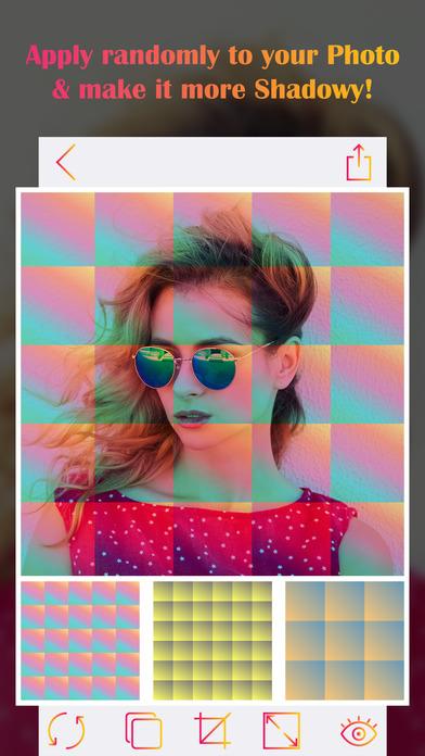 Tiles Insta Selfie Editor - Shader Image Editor screenshot 2