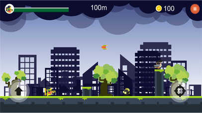 Jetpack Man Survival screenshot 1