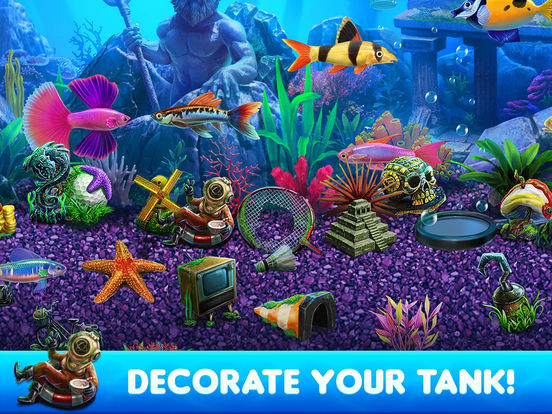 App shopper fish tycoon 2 virtual aquarium games for Fish tycoon 2 cheats