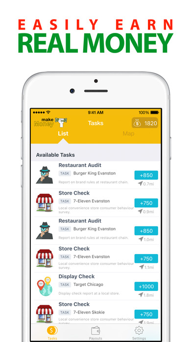 Screenshots of Make Money - Earn Free Cash for iPhone