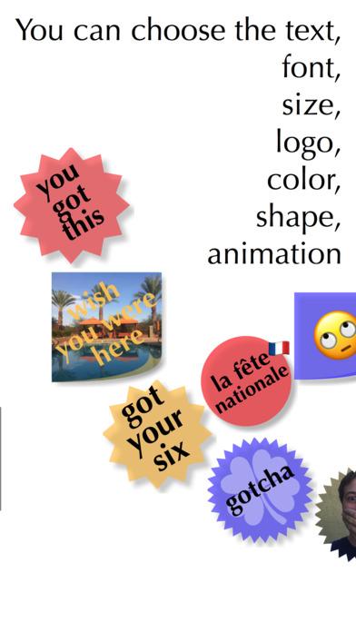 Wicked Custom Stickers screenshot