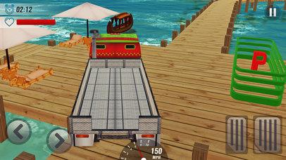 Impossible Track Truck Driver Simulator 3D screenshot 2