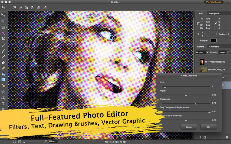 Pro Paint - Filter, Image and Photo Editor Screenshots