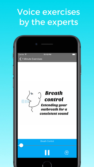 One Minute Voice WarmUp Screenshot 1