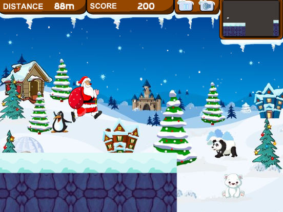 Speed Santa Running screenshot 7