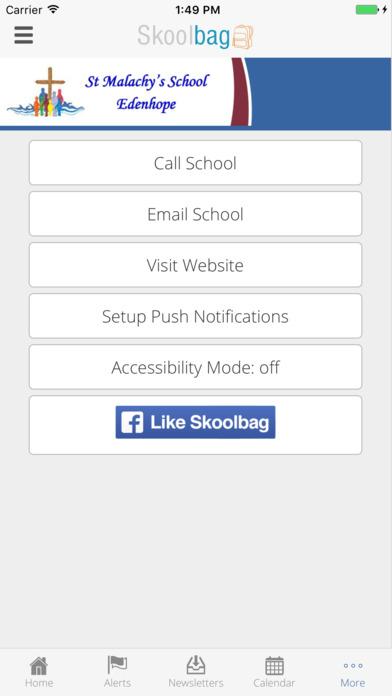 St Malachy's School screenshot