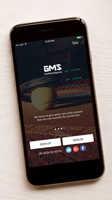 Get More Sports screenshot 1