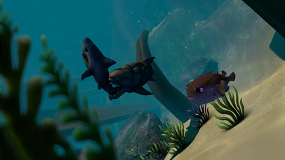 GIANT OCEAN MONSTER - FEED AND GROW FISH screenshot 2