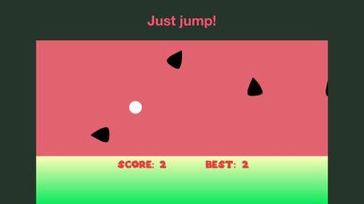 Watermelon overjump screenshot