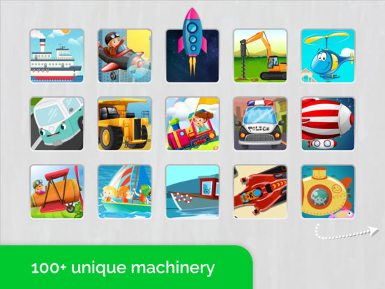 Cars,Planes,Ships! Puzzle Games for Toddlers. AmBa screenshot 9
