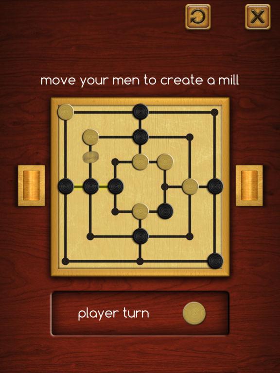 Nine Men's Morris ® на iPad