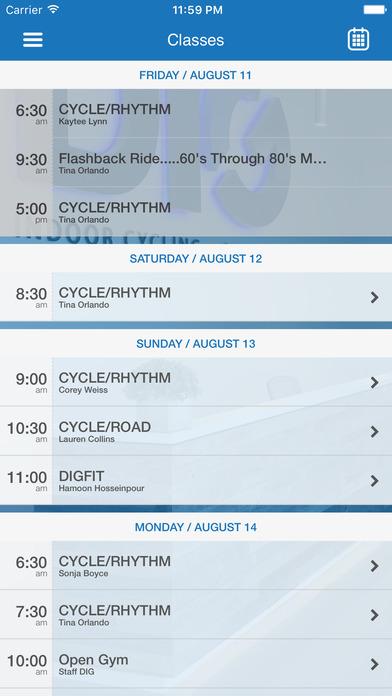 DIG Indoor Cycling + Strength screenshot