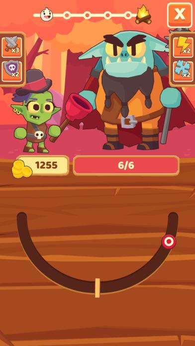 Questy Quest - Бесконечные бои нажатиями на экран Скриншоты4