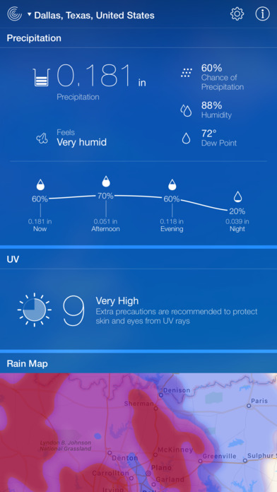 Screenshot #10 for Weather Live - Weather Forecast & Alerts