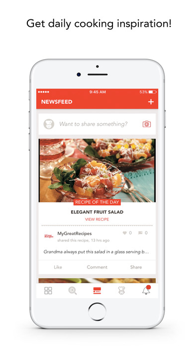 download MyGreatRecipes! apps 1