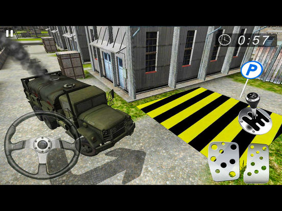 Army Base Camp Parking screenshot 6