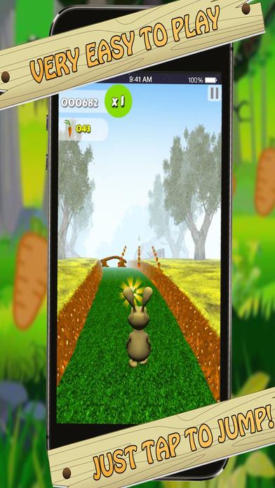 Bunny Jungle Run Adventure screenshot 3