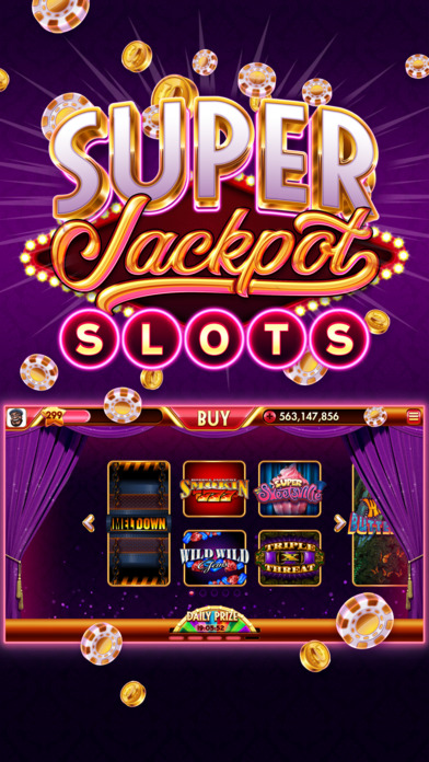 Screenshot 1 Super Jackpot Slots — Vegas Casino Slot Machines