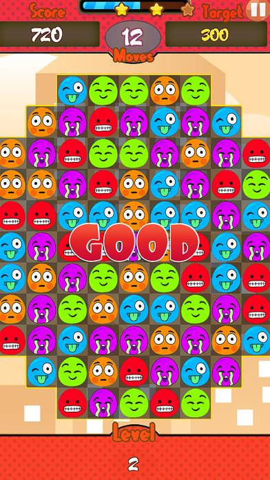 Jelly Emoji Match screenshot 3