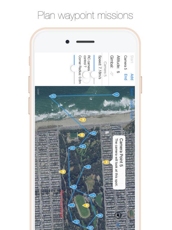 Drone Director - Automatic flight modes for DJI Screenshots
