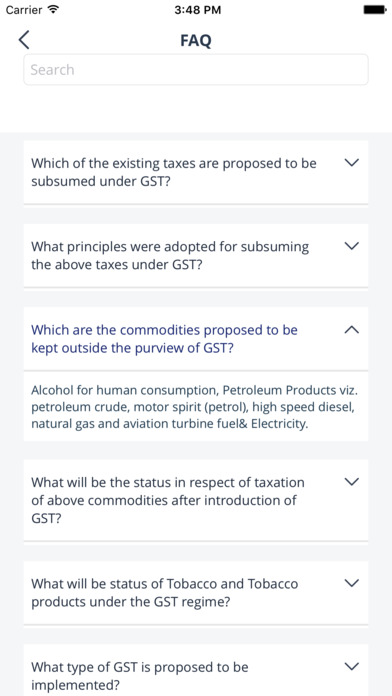 GST India Expert Chat screenshot 4