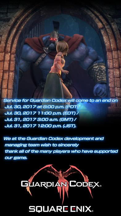 Guardian Codex Screenshot