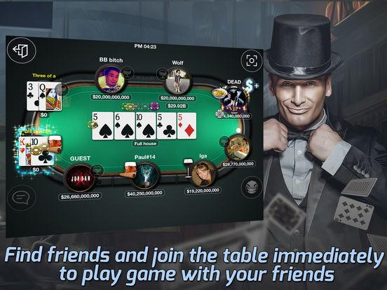 Tap Poker Socialscreeshot 2