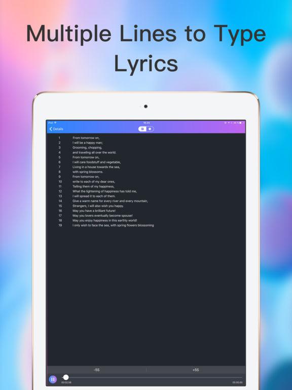 Lyric Maker - Write Music Lyrics screenshot