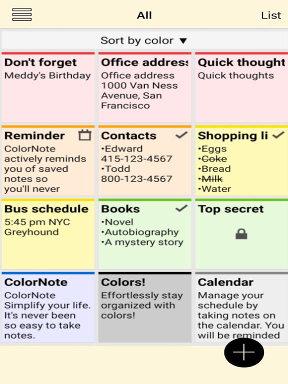 Note - Notepad & Notes App Screenshots