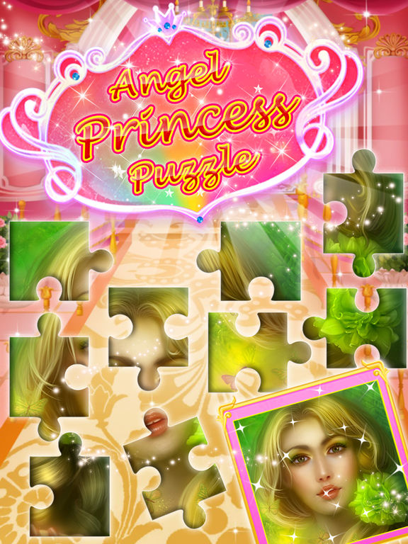 Angel princess puzzle screenshot 6