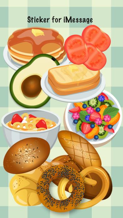 Breakfast Meal Stickers screenshot 1