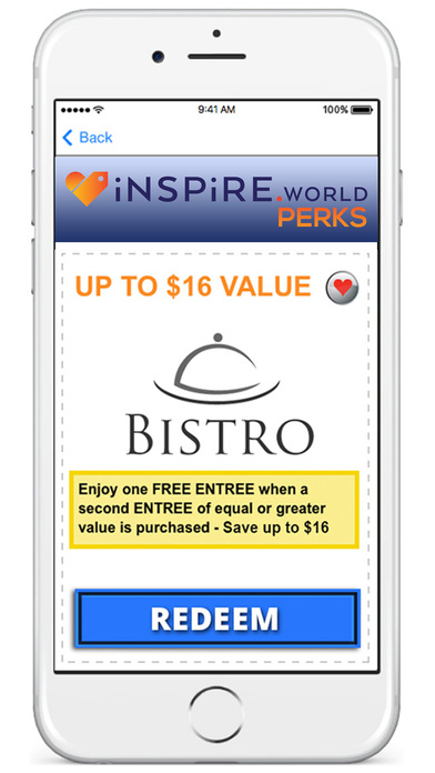 Inspire World Perks App Download - Android APK