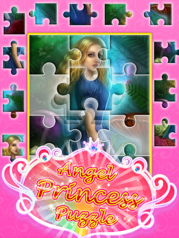 Angel princess puzzle screenshot 9