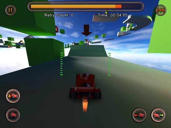 Jet Car Stunts Screenshots