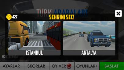 Türk Arabaları Yarış & Sürüş screenshot 4