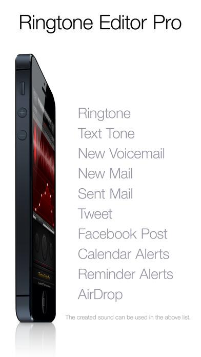 Ringtone Editor Pro Screenshots