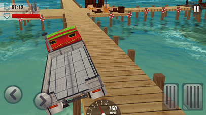 Impossible Track Truck Driver Simulator 3D screenshot 3