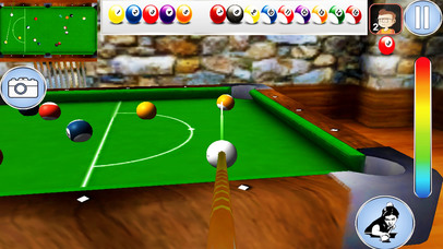 snooker pool Billiard game screenshot 1
