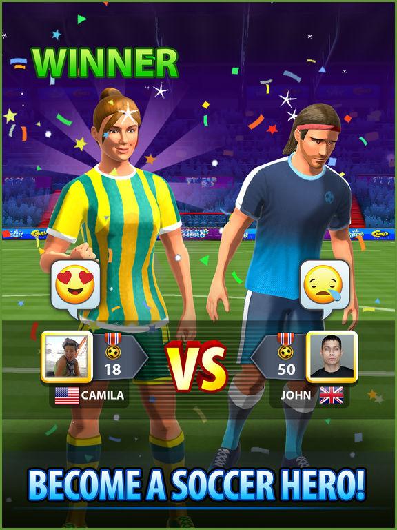 Soccer! Hero screenshot 10