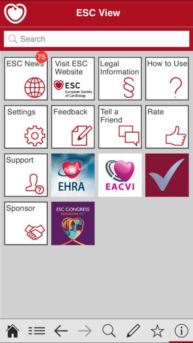 App Shopper ESC Pocket Guidelines Medical