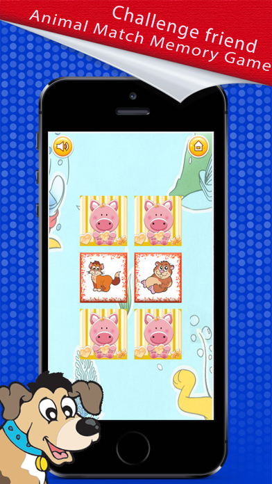Memory Match : Animal Card Game screenshot 2