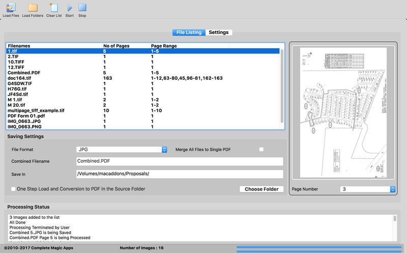 CM TIFF 2 PDF for Mac