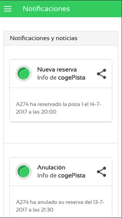 CogePista screenshot 1