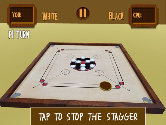 Carrom 3D-Realistic Counter Striker Finger Flick screenshot 8