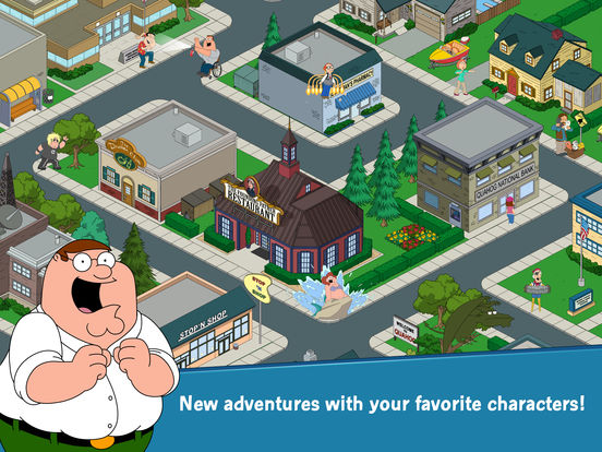 Family Guy: The Quest for Stuffscreeshot 2