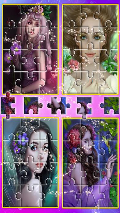 Angel princess puzzle screenshot 5
