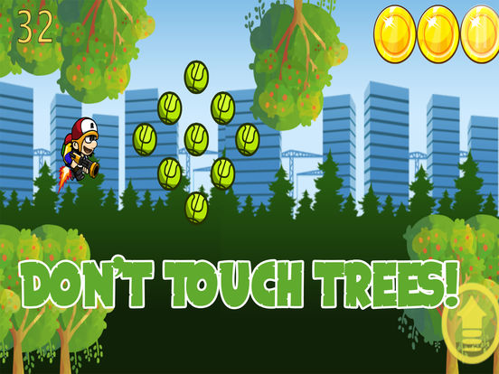 Jetpack Boy In The Forest screenshot 8