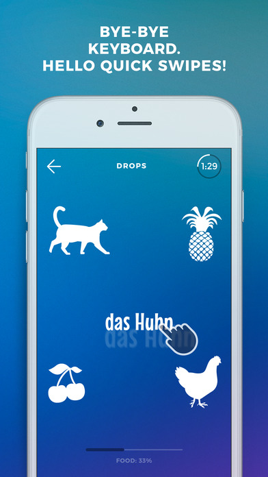 Screenshot #6 for Learn German language & words with Drops