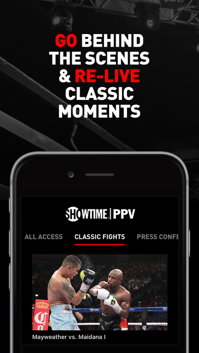 SHOWTIME PPV- Mayweather vs. McGregor- Stream Live screenshot 3